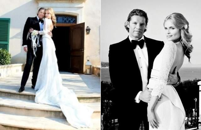 16 апреля 2011 года пара отпраздновала свадьбу. Торжество прошло в Сен-Тропе, на курорте Франции. В свадебное путешествие молодожены улетели на Мальдивы.