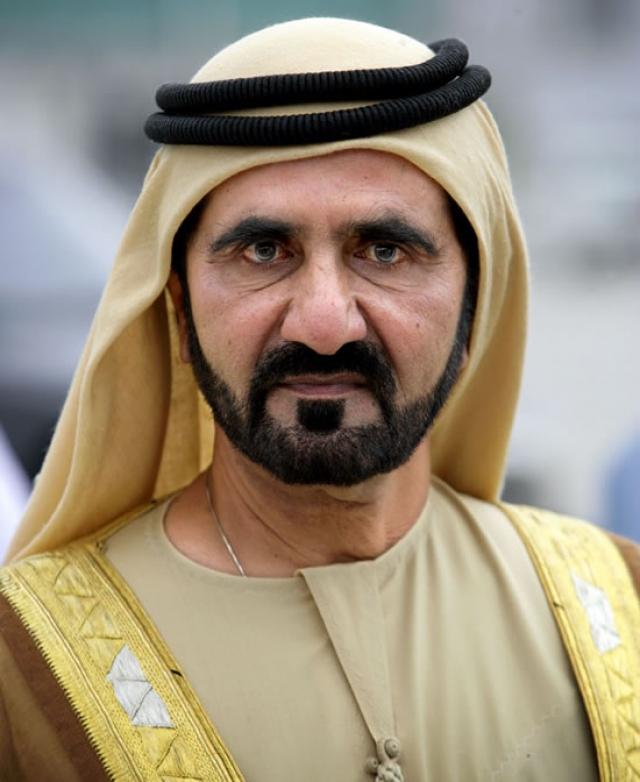 Мохаммед ибн Рашид аль-Мактум. Эмир Дубая также фанат Формулы-1. Он подарил Шумахеру остров в архипелаге Персидского залива. За 7 млн долларов.
