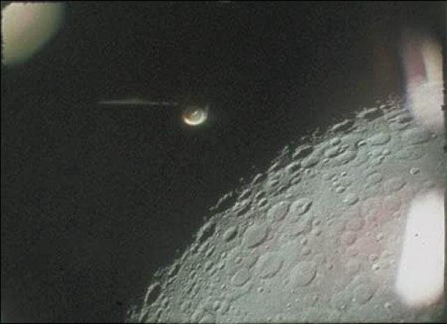Подобное сияние на темной стороне Луны было замечено неоднократно.