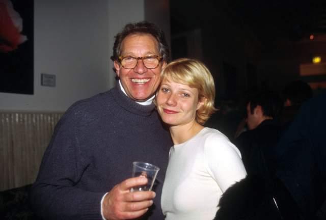 Гвинет Пэлтроу с отцом.