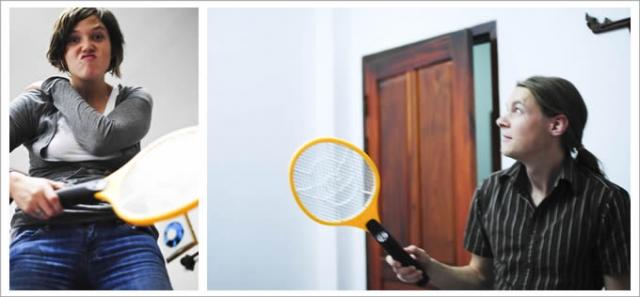 Чемпионат по уничтожению кровопийцев. Чемпионаты по истреблению кровососущих насекомых проводятся ежегодно в Италии. Участникам выдаются мухобойки, утвержденные регламентом соревнования, и предоставляется ровно 10 минут на убийства.
