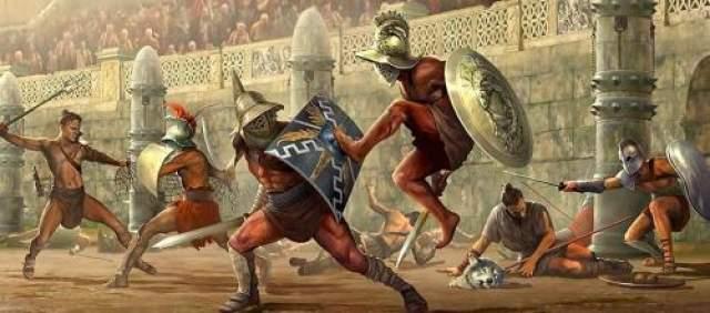 Правителем он был несправедливым. А вот искуснее всего он был в тех занятиях, которые не соответствовали положению императора: лепил чащи, хорошо танцевал, пел, свистел, проявлял способности шута, а главное - превосходного гладиатора!