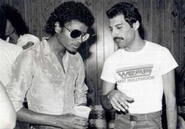 Майкл Джексон и Фредди Меркьюри