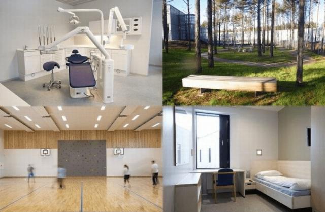 Крупнейшую в Норвегии тюрьму построили в 2010 году с учетом современных реалий.
