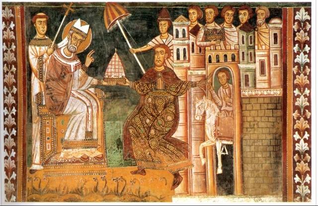 """Самой старой из известных исторических фальсификаций является так называемый """"Константинов дар"""" ."""