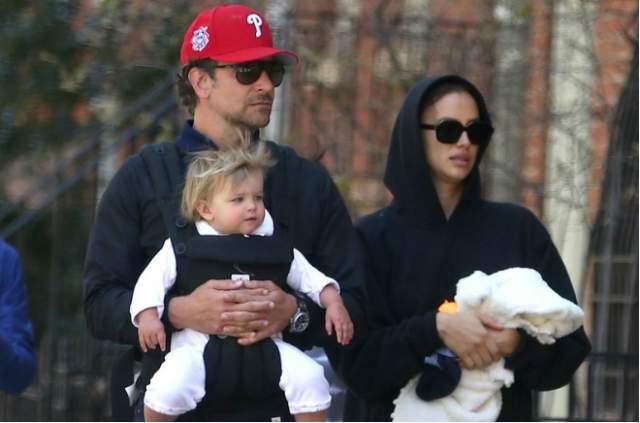 У пары уже подрастает дочка - Леа де Сена Шейк Купер.