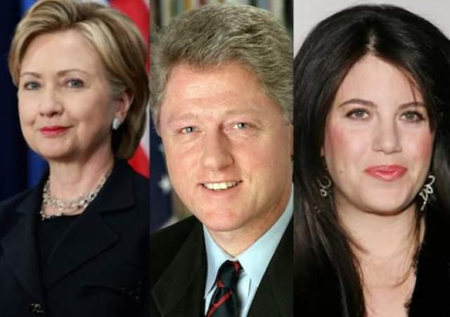 Хиллари (71) и Билл Клинтоны (71). Пожалуй, это самая известная история про адюльтер, какая вообще есть в мире. В 2001 году президент США Билл Клинтон оставил свою должность из-за скандала: оказалось, что в течение нескольких лет он, пользуясь служебным положением, у него были сексуальные отношения с юной стажеркой Моникой Левински.