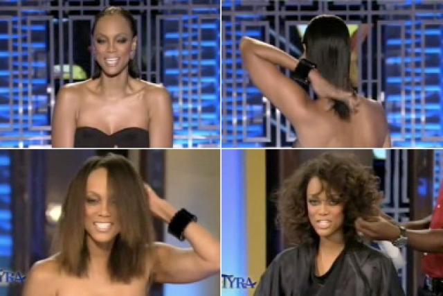 Тайра даже много раз обещала публике завязать со страстью к парикам и перейти к естественному образу, так и не смогла сдержать обещание.