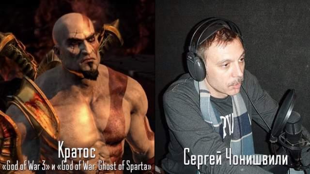 Также он озвучивал множество персонажей в компьютерных играх, - например, был Кратосом в двух частях World of War.