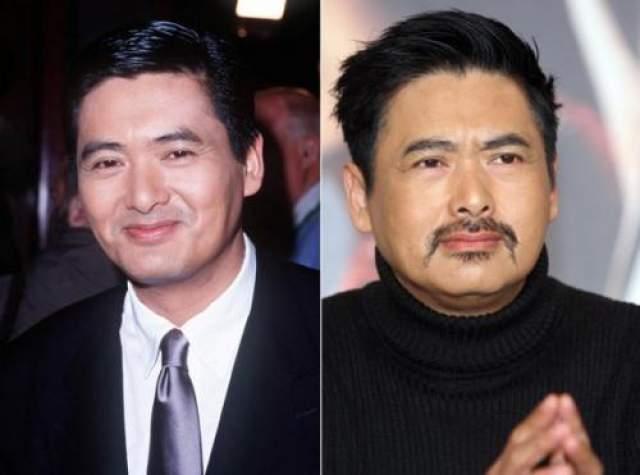 """Чоу Юн-Фат Китайский актер Чоу Юн-Фат не скрывает, что он сделал себе новое лицо. Звезда фильма """"Крадущийся тигр, затаившийся дракон"""" признался журналистам, что впервые он обратился к пластическим хирургам в 1989 году, когда его """"веки начали слипаться"""". Он даже пошутил, что может порекомендовать желающим своего врача в Гонконге, которые сделает свою работу хорошо и недорого."""