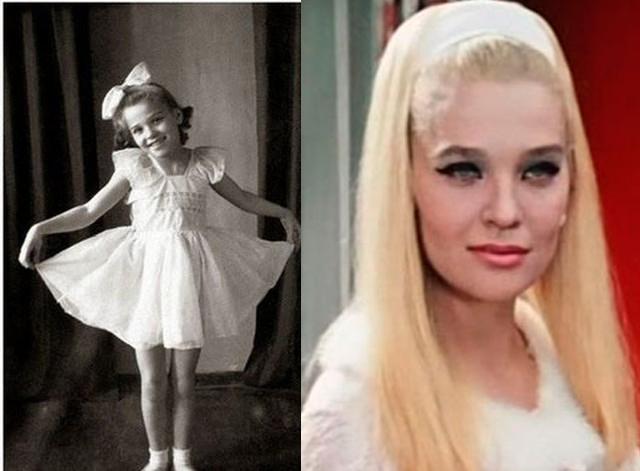 Такой была в детстве исполнительница роли соблазнительницы Анны Сергеевны, Светлана Светличная.