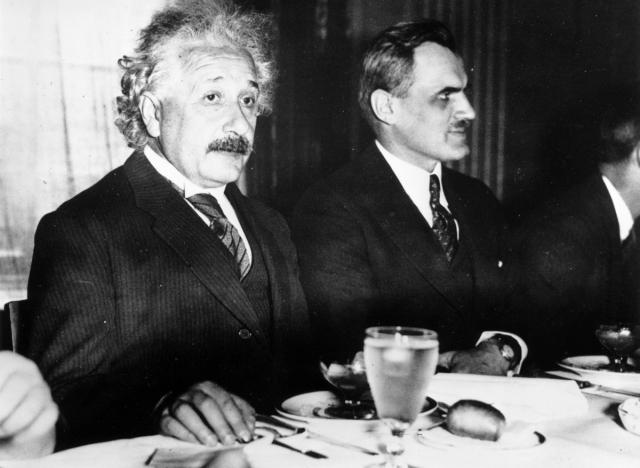 Эйнштейна часто упоминают в числе вегетарианцев. Хотя он в течение многих лет поддерживал это движение, строгой вегетарианской диете он начал следовать только в 1954 году, примерно за год до своей смерти.