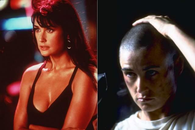 Чтобы полностью погрузиться в роль, актриса даже побрилась налысо.