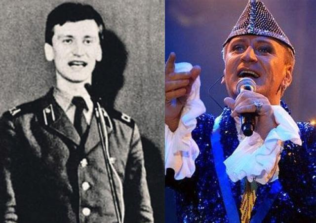 Сергей Пенкин. Таким был эпатажный певец во время службы в армии.