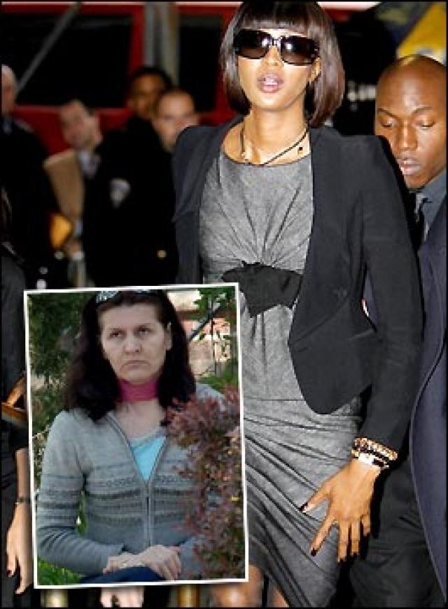 В том же году Кэмпбелл нанесла телесные повреждения своей домработнице Гэби Гиндсон, из-за того что та не смогла отыскать ее любимые джинсы.
