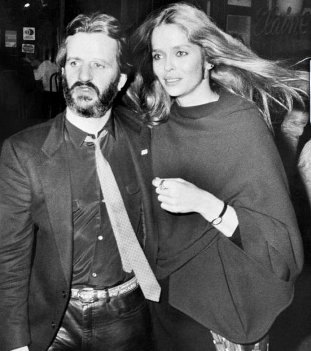 Барбара Бах. Модель - супруга Ринго Старра с 1981 года.
