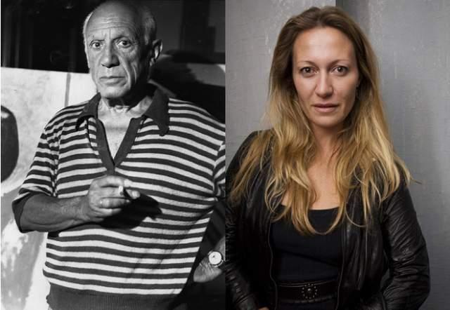 Диана Пикассо, внучка Пабло Пикассо. Неудивительно, что внучка величайшего художника XX века решила связать свою жизнь с искусством.