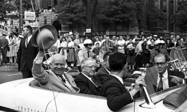 Никита Хрущев. 15 сентября 1959 года начался визит советского лидера в США.
