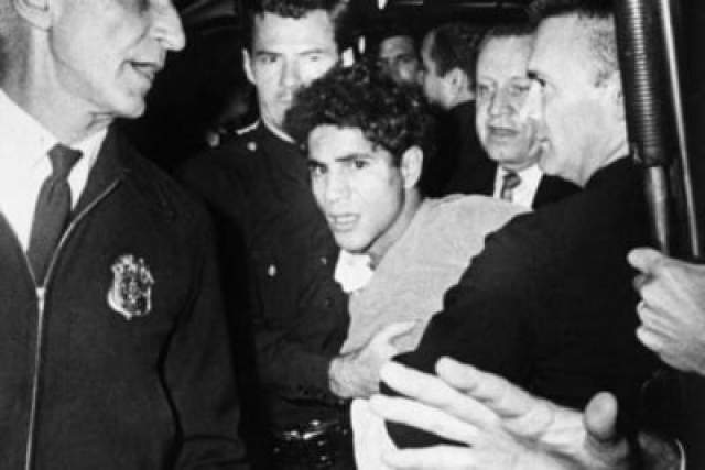 Серхан Серхан, 24-летний палестинском-иорданский иммигрант, был осужден за убийство Кеннеди и отбывает пожизненное заключение за преступления, его адвокаты утверждают, что имеют доказательства того, что его подставили.