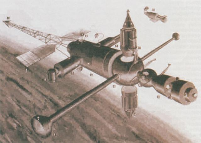 """Советским ответом на космические инициативы США стал проект """"Аэлита""""."""