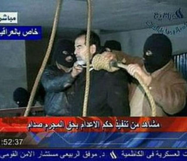 Бывший президент Ирака был повешен примерно с 2.30 до 3.00 ночи 30 декабря 2006 года.
