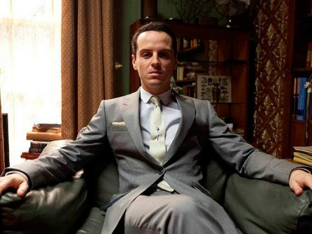 """Эндрю Скотт. Актера сразу узнают фанаты британского сериала """"Шерлок"""", где он сыграл профессора Мориарти, получив впоследствии за роль премию BAFTA как лучший актер второго плана. В ноябре этого года составит компанию Дэниэлу Крэйгу в фильме про Джеймса Бонда."""