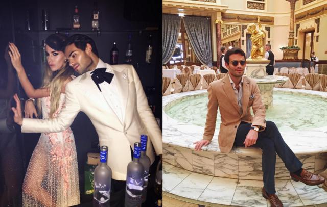 У него свой ювелирный бизнес и вся его жизнь заключается в бесконечных путешествиях по миру. В его распоряжении находится несколько дворцов-особняков, он пьет только самый дорогой алкоголь и носит самые дорогие костюмы.