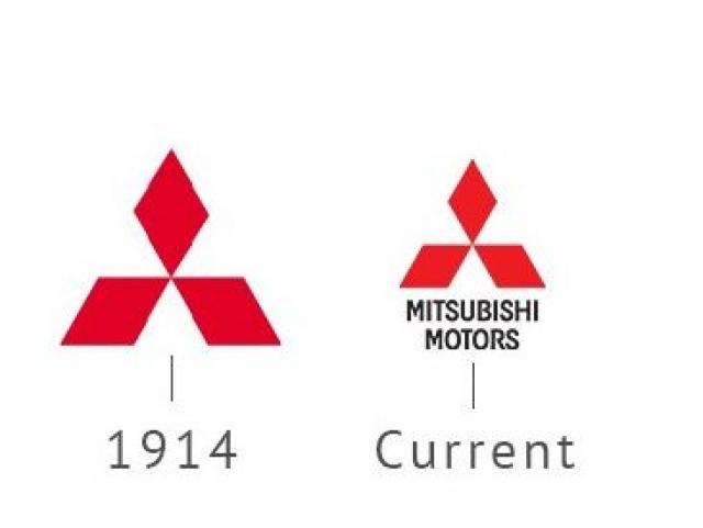 старый логотип митсубиси