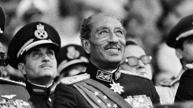 Анвар Садат. Президент Египта был убит 6 октября 1981 года в Каире.