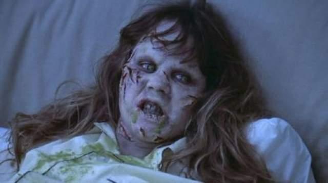 Линда Блэр сыграла одержимую девочку в фильме.