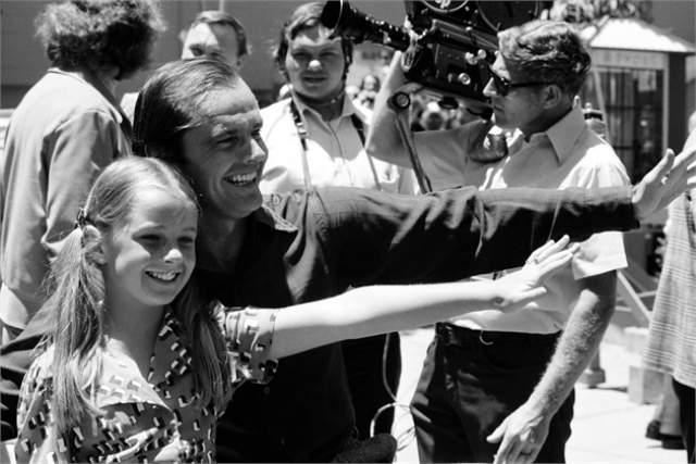 Джек Николсон с дочерью Дженнифер.