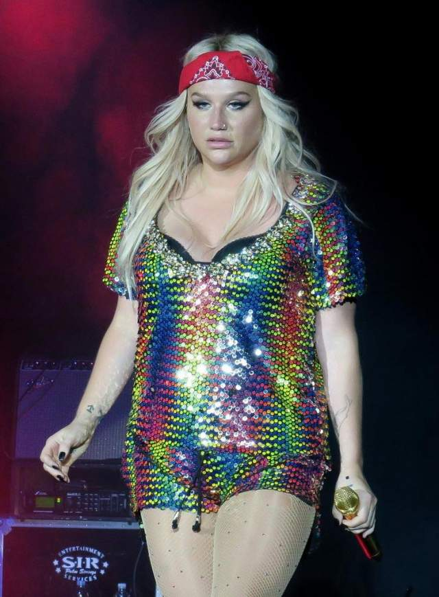 Кеша 32-летняя скандальная певица никогда не была тростинкой, и весов качели для нее не в новинку. Девушки постоянно то худеет, то снова набирает вес. В последнее время Кеша в очередной раз сильно поправилась - теперь она носит 52-й российский размер.