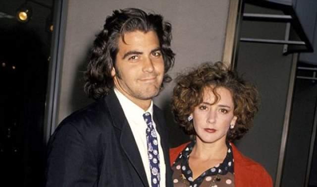 Талия Болсам и Джордж Клуни, 1989-1993. Брак с красавцем Джорджем Клуни, по сути, был билетом в мир роскоши, кино и беззаботности. Когда они поженились, о Болсам наконец узнал весь мир.