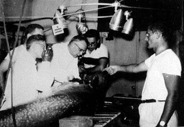 Позже он конфиденциально признал, что его работа над ЛСД была частью проекта ЦРУ по контролю над сознанием MKULTRA. В своей книге 1967 года он описывает ощущения после принятия кетамина в качестве наркотика.