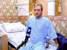Плющенко на больничной койке