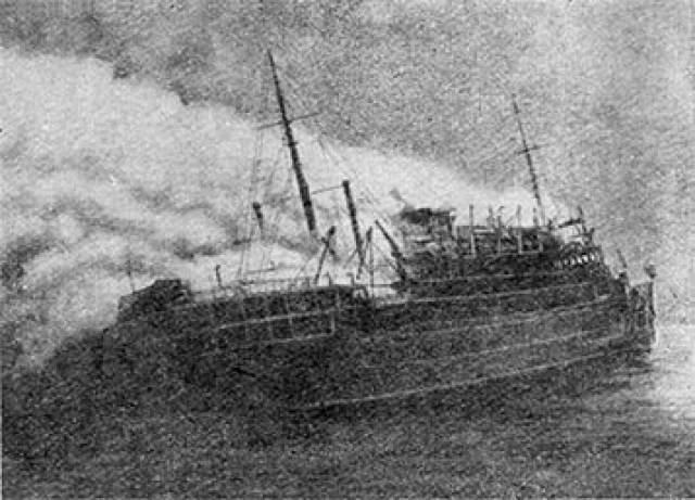 """Тайна """"Эвридики"""" и 358 пассажиров. В июле 1881 года в Ирландском море пропало без вести учебное военное судно британского ВМФ """"Эвридика""""."""