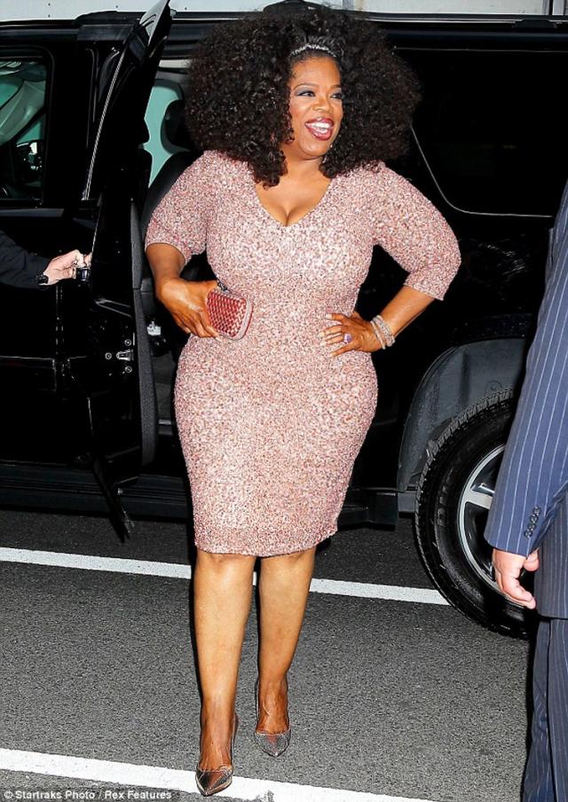 """Опра Уинфри. Телеведущая большую часть жизни была дамой """"в теле"""", чей вес составлял 90 кг."""