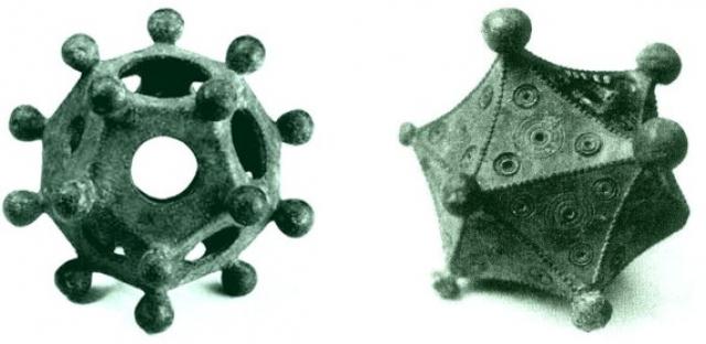 Единственным предположением о предназначении додекаэдров было их использование в качестве подсвечников. Гипотезу ставит под сомнение тот факт, что отверстия имеются не во всех из них.