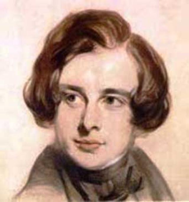 Чарльз Диккенс. Писатель был рожден 7 февраля 1812 года в английском Портсмуте в семье военного чиновника, который, уехав в Лондон, начал жить не по средствам и заимел много долгов.