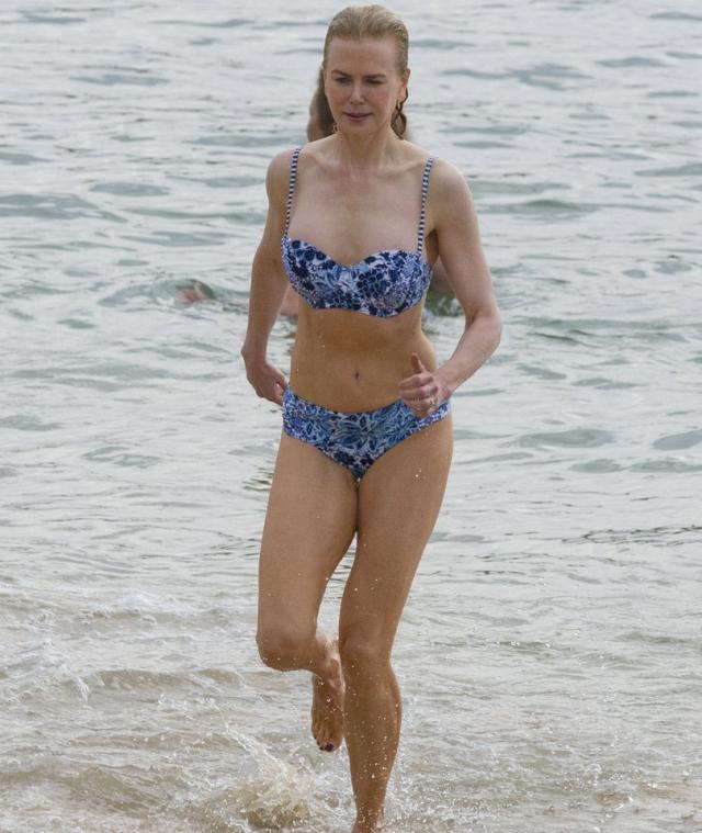 Николь Кидман. 50-летняя актриса может похвастаться идеальной фигурой.