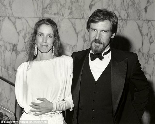 Харрисон Форд и Мелисса Мэтисон. Когда Харрисон Форд женился на Мелиссе Мэтисон, он был малоизвестным актером.