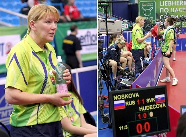 В 1992 году Попова вместе с семьей покинула Азербайджан и переехала в Словакию (Братислава), и с начала 1994 года получила право представлять Словакию на международных турнирах.