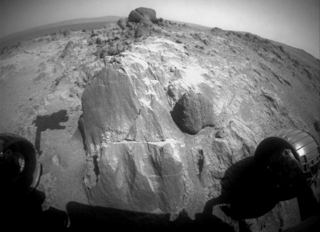 Марсианские камни.