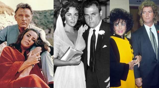 К слову, Тейлор была замужем восемь раз, и два из них - за одним и тем же мужчиной, Ричардом Бертоном.