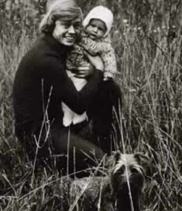 Николай Караченцов с сыном.