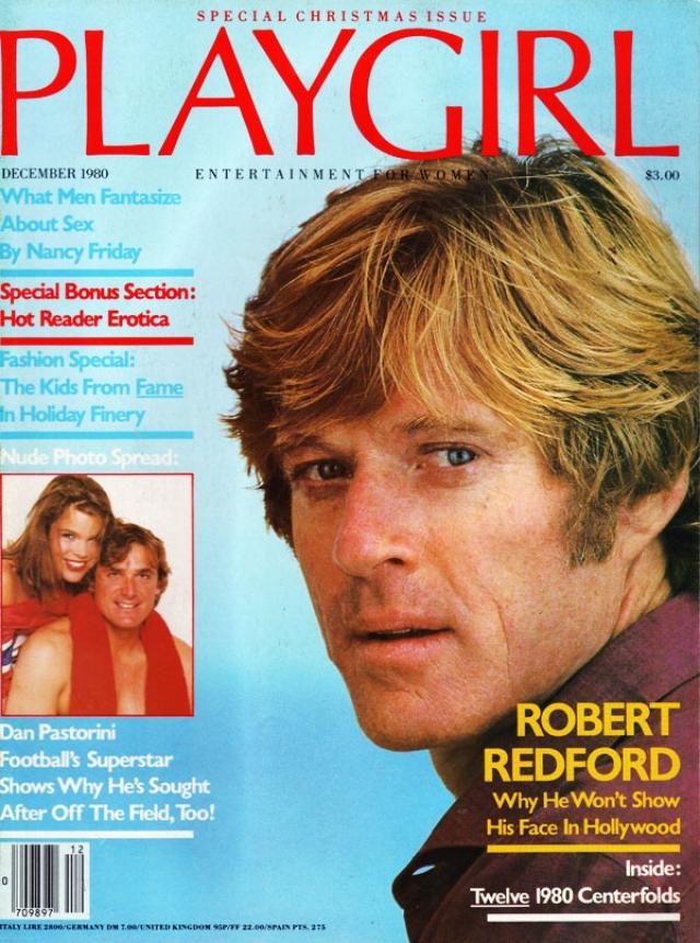 Роберт Редфорд. Декабрь 1980.