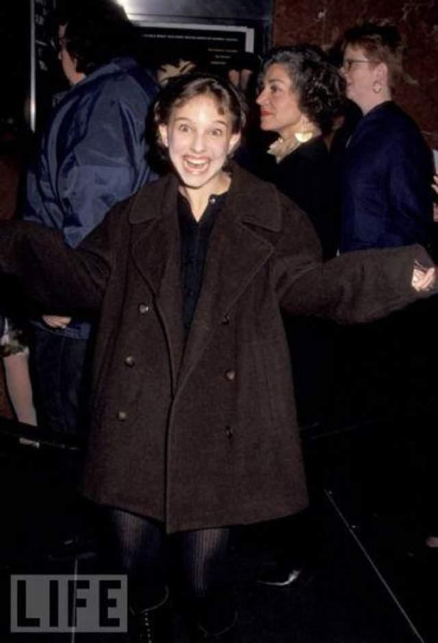 Натали Портман в 13 лет