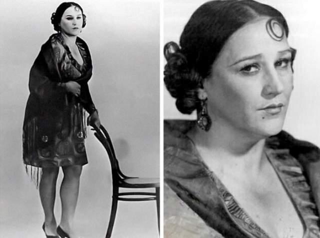 В образе Мадам Грицацуевой могла предстать Нонна Мордюкова, но показалась слишком солидной и серьезной.