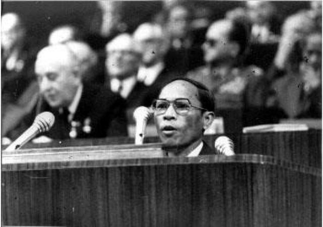 7 января 1979 года был взят Пномпень. Власть передали Единому фронту национального спасения Кампучии во главе с Хенг Самрином.