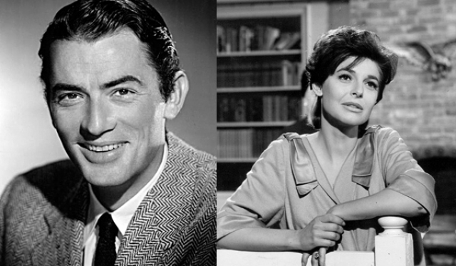 """1963 - Грегори Пек (""""Убить пересмешника"""")/Энн Бэнкрофт (""""Сотворившая чудо"""")"""